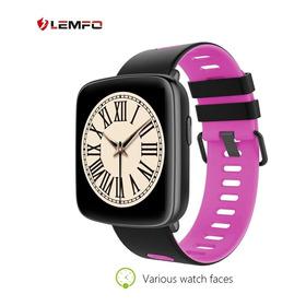 Lemfo Gv68 Relógio Inteligente À Prova D' Água Monitor De Fr