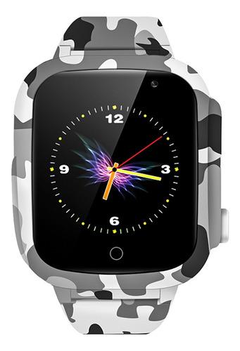 lemfo lec2 crianças relógio inteligente 1.3 ips cor tela tel
