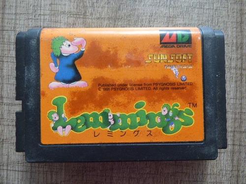 lemmings megadrive japon zonagamz