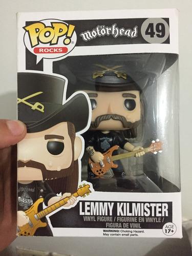 lemmy kilmister motorhead funko pop! nuevo en stock