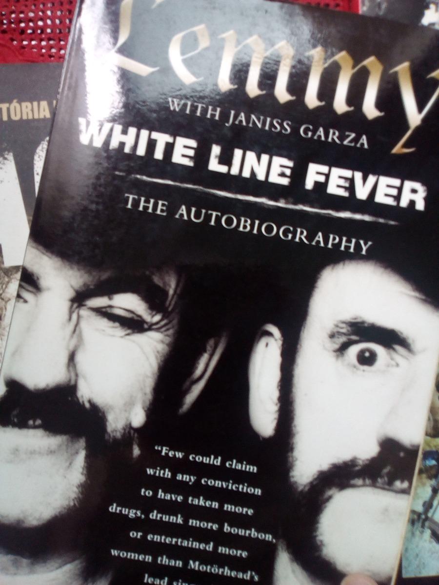 lemmy white line fever the autobiography, livro imp. Carregando zoom.