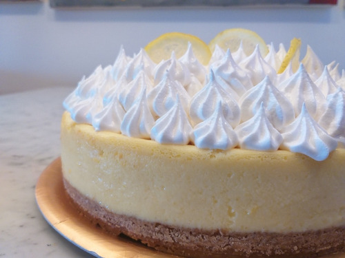 lemon pie. belgrano