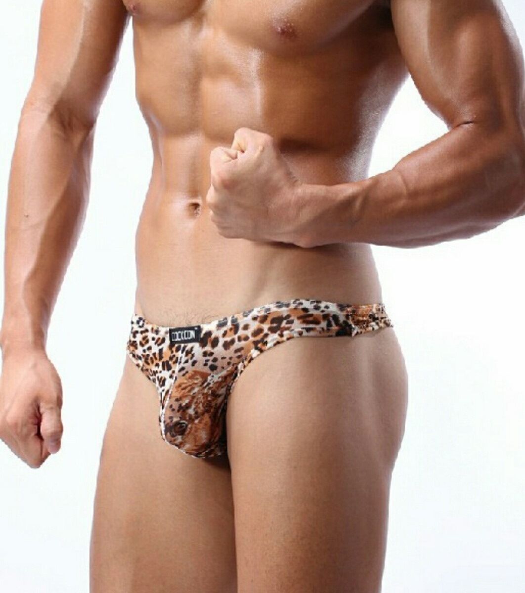 Lenceria boxer ropa interior hombre animal print - Ropa interior hombre transparente ...