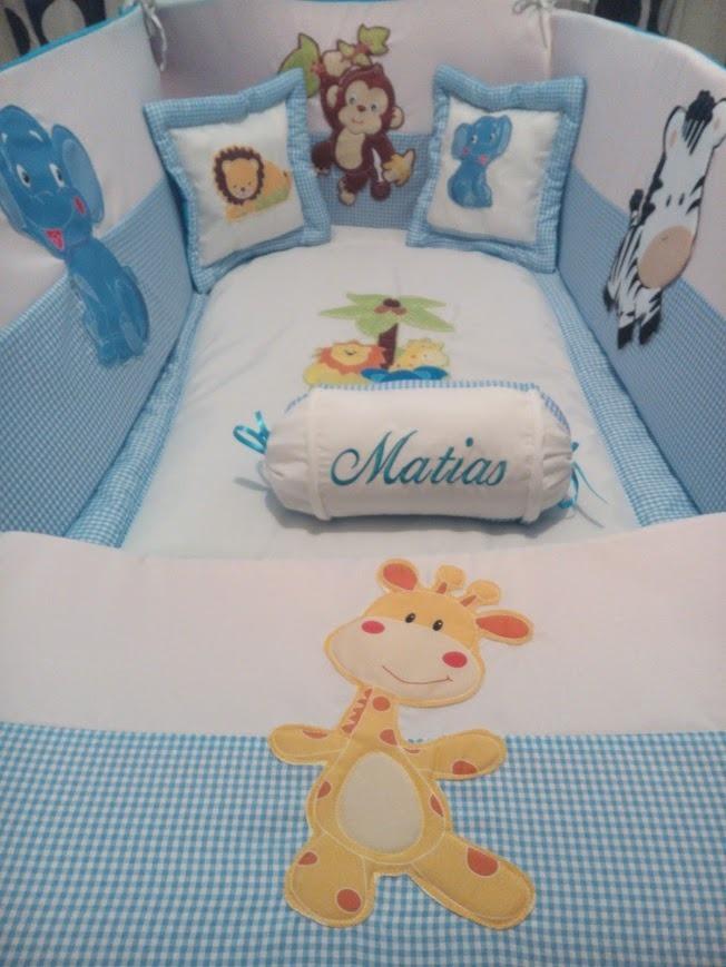 Lencer a cama cuna cuarto beb accesorios decoraci n for Accesorios habitacion bebe