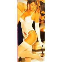 Corset Con Panty Femenino Y Romantico Tallas 32- 34- 36