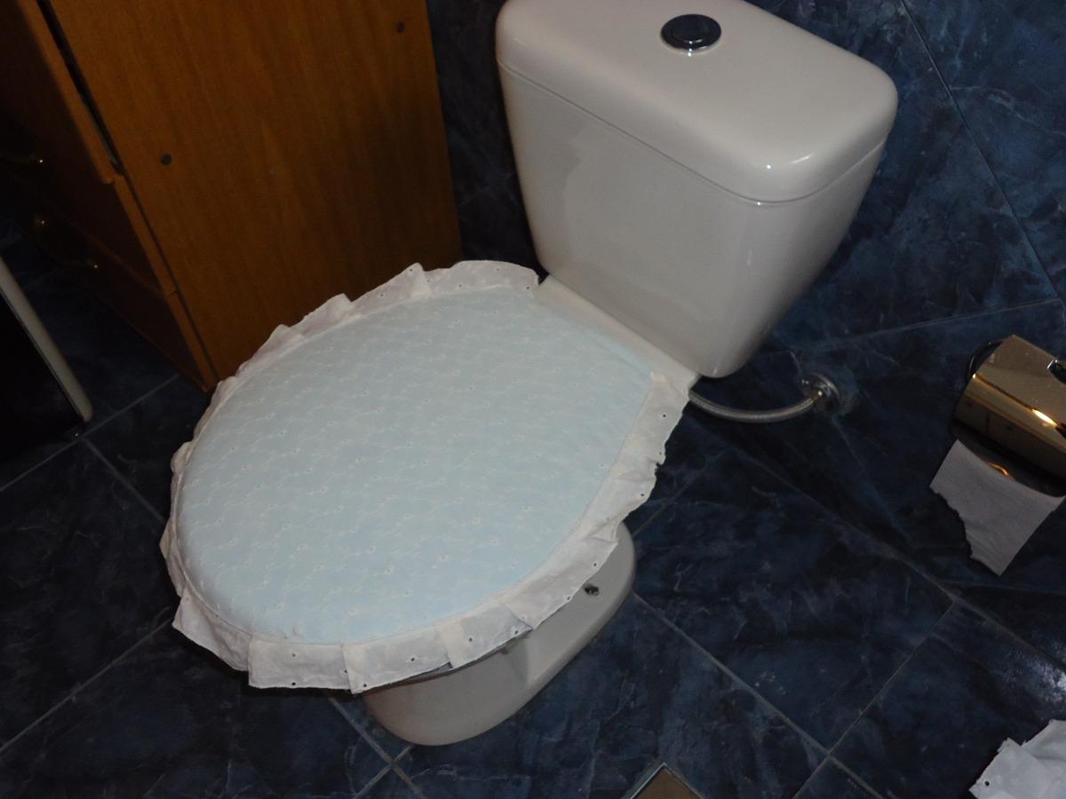 Lenceria de ba o fundas de tapa de water y videt 700 for Tapa de water
