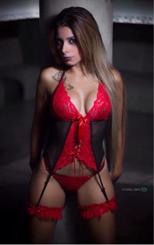 lencería sexy corset  atrévete lencería peru