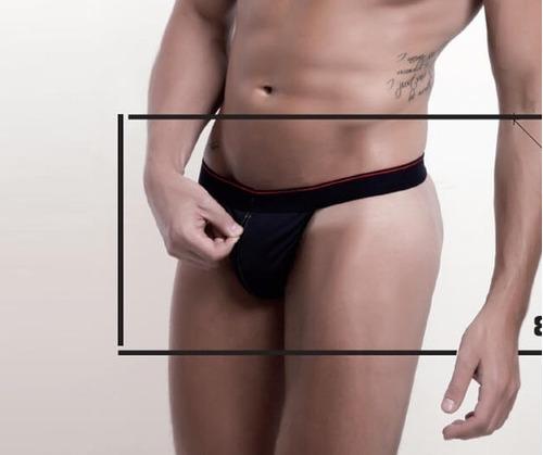 lencería sexy hombre colaless cierre frontal sexshop