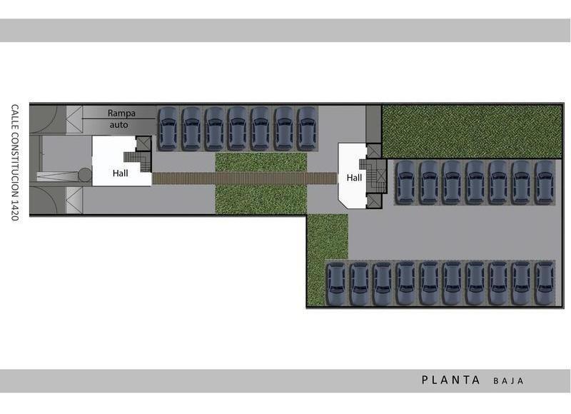 lencke vende - 100% en pesos!!, lindisimo 2 ambientes, balcon c/parrilla, financiacion en pesos