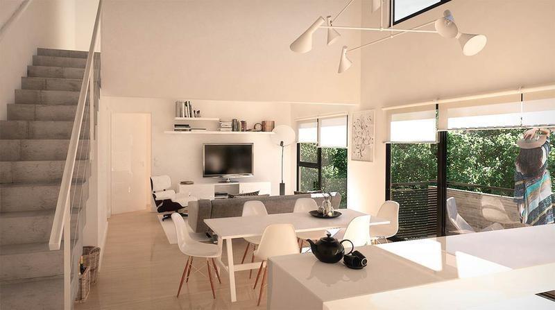 lencke vende - excelente 3 amb al contrafte c/balcon, cochera opcional, fideicomiso al costo