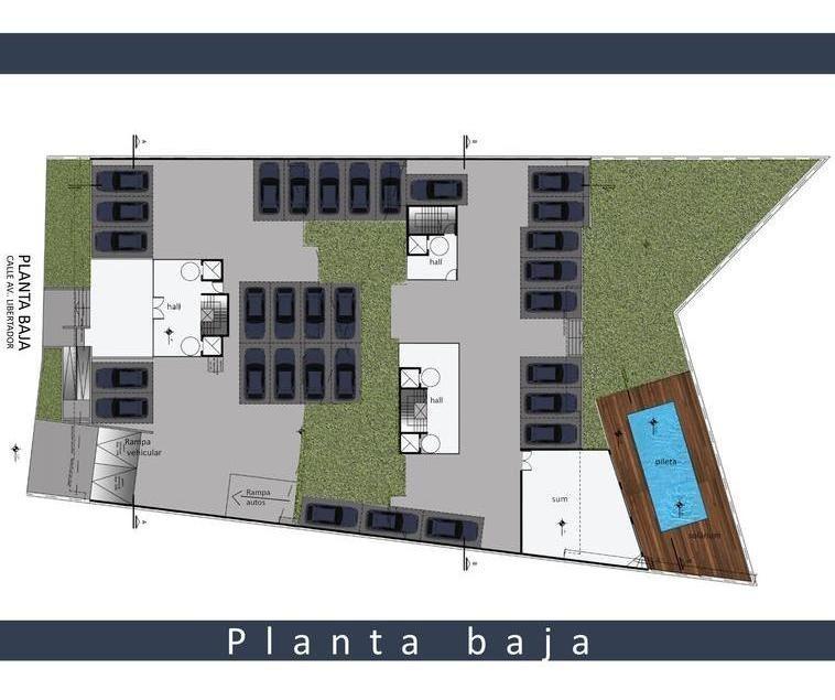 lencke vende -venta 100% en pesos!!, excel. depto balcon terraza c/parrilla, coch opcional