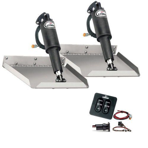lenco 12-inch x 9-inch edgemount equipo w / interruptor