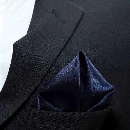 Lenço De Bolso Azul Marinho Para Terno Casamentos Padrinhos - R  10 ... 3816c792208