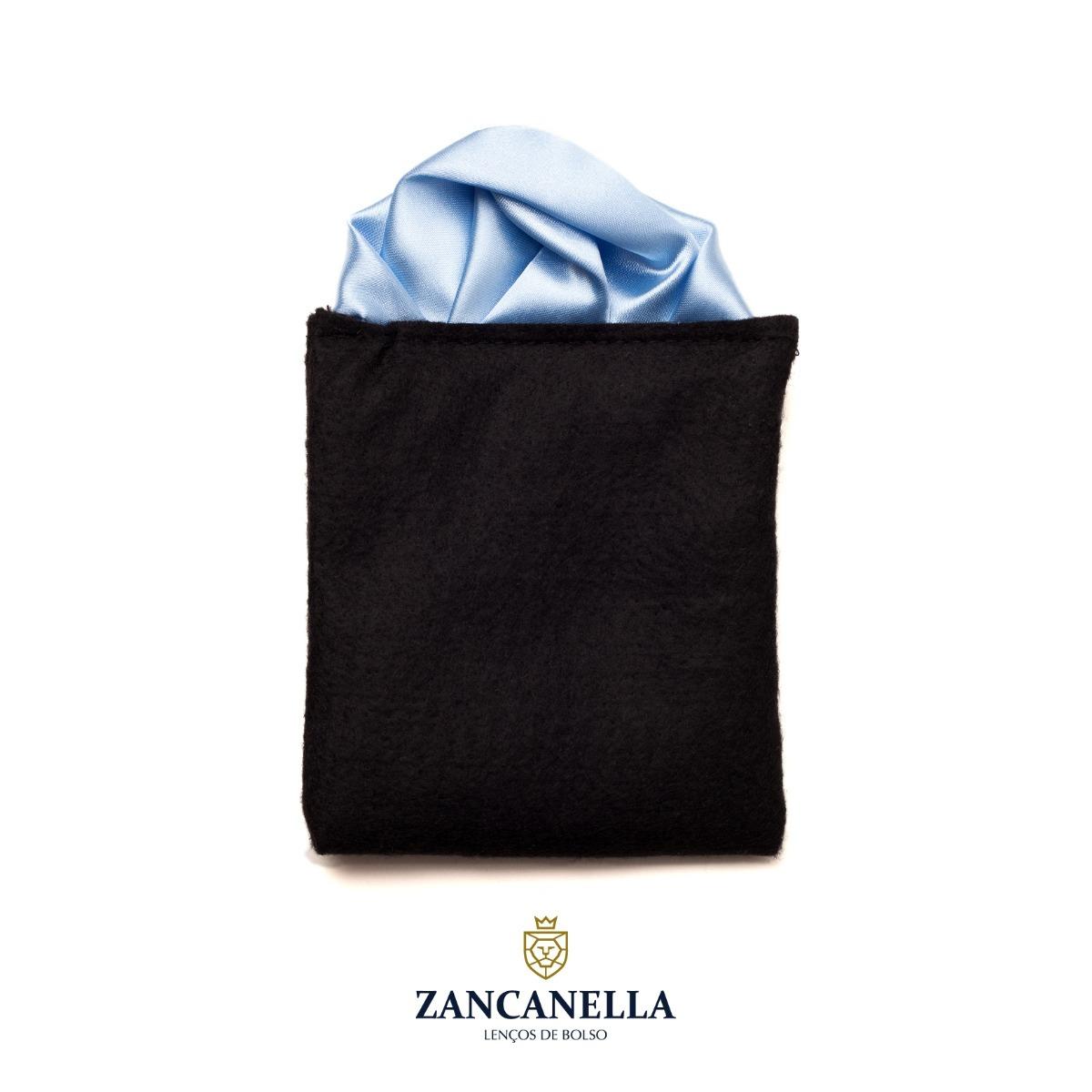 67748533ccc lenço de bolso dobra feita - puff azul claro. Carregando zoom.