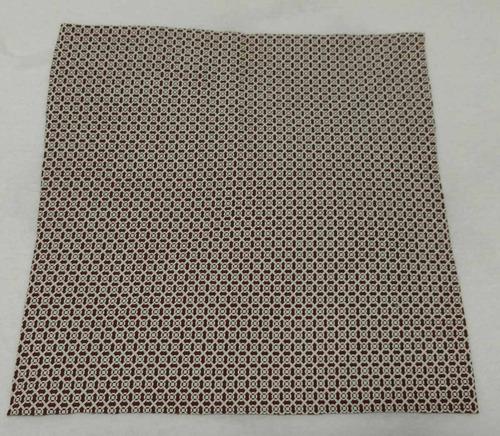 lenço de bolso marrom