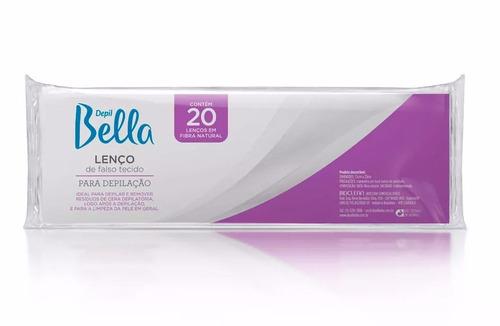 lenço depil bella gran style papel c/ 20 unidades