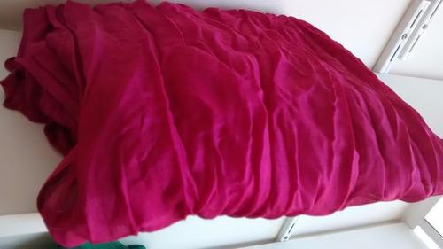 lenço echarpe feminino rosa