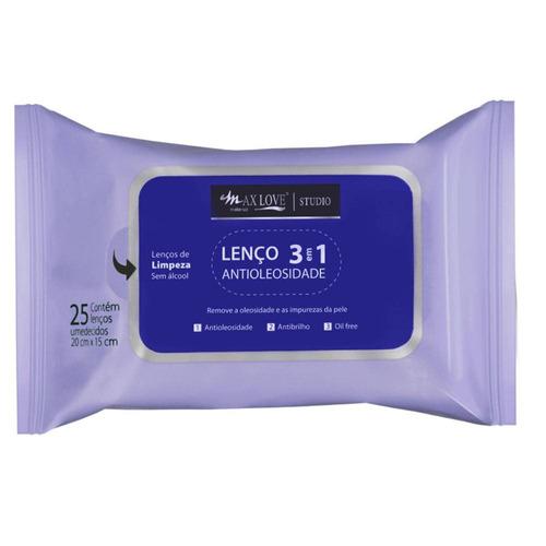 lenço max love caixa com 16 unidades