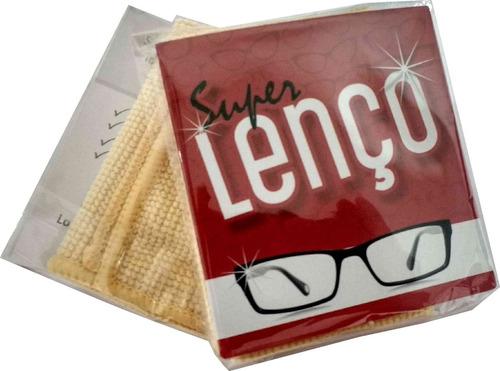 lenço microfibra flanela 50 unidades limpeza óculos oferta*