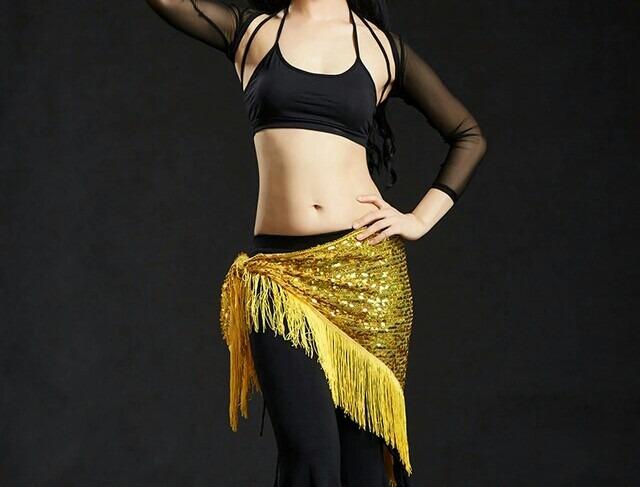 380946105 Lenço Quadril Dança Do Ventre Lantejoula - R  85