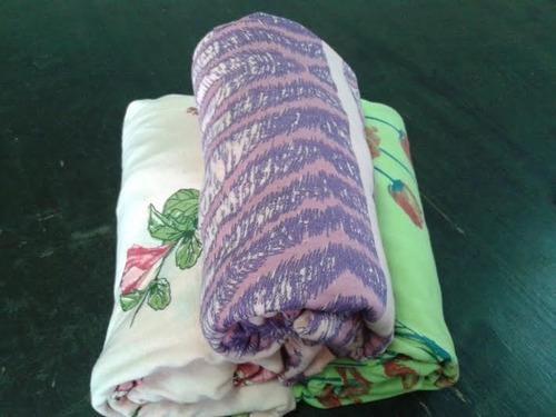 lençol avulso casal malha estampado