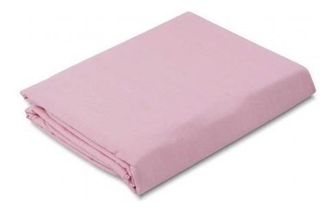 lençol avulso sem elástico casal 100% algodão várias cores