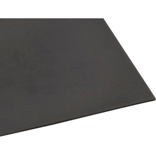 lençol de borracha comum 1/4  6,4x1000mm s/lona preto-vonder