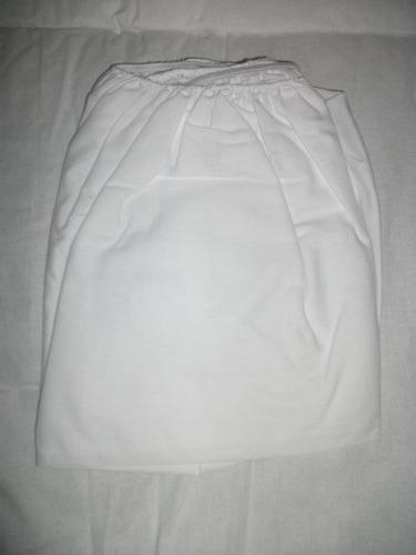 lençol de malha com elástico de berço 100% algodão