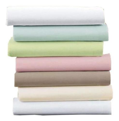 lençol hospital hotel 100% algodão percal 140 fios 50