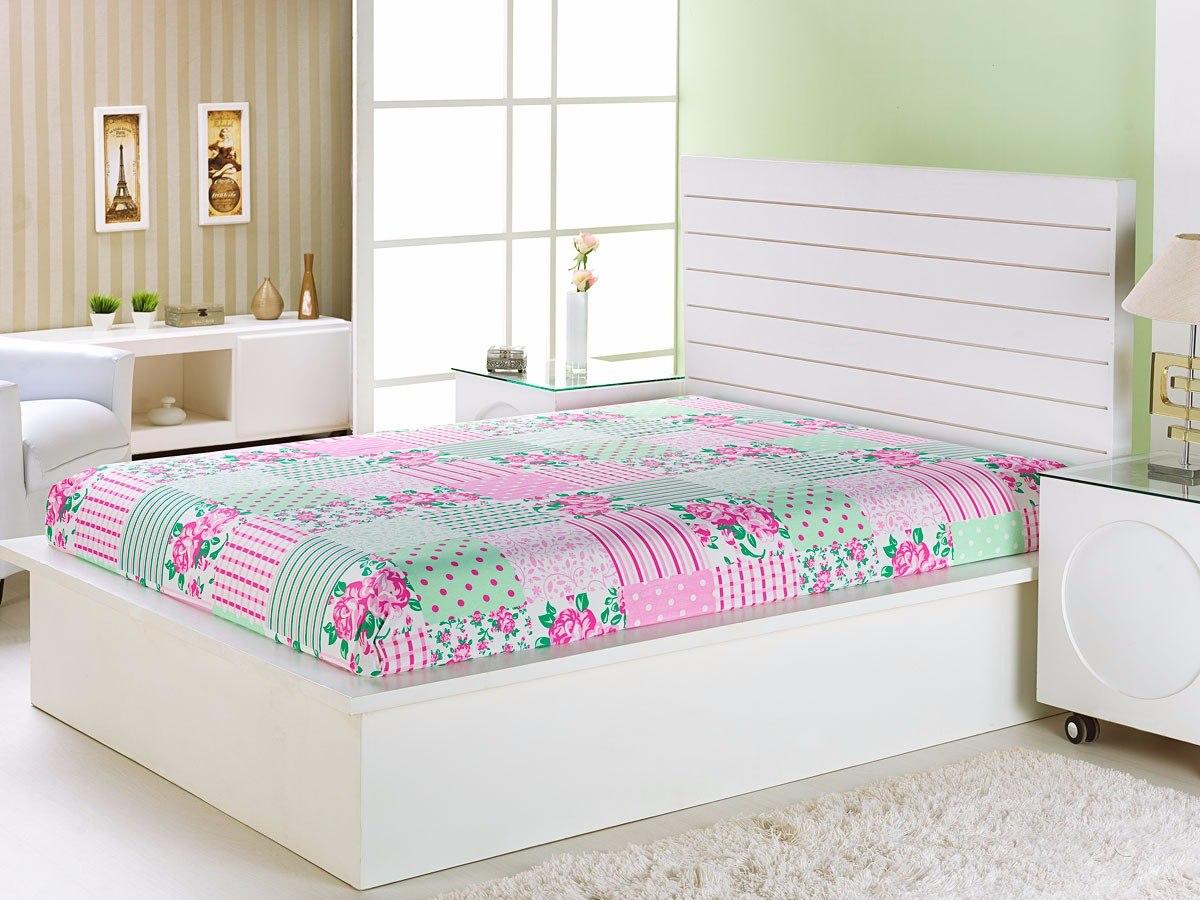 45f689b0f2 lençol percal 180 fios cama casal padrão 1 pç est variadas. Carregando zoom.