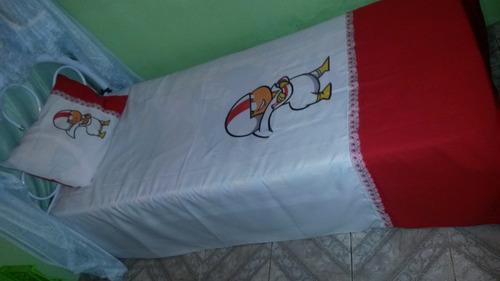 lençol solteiro kick tamanho 1,80 x 2.40