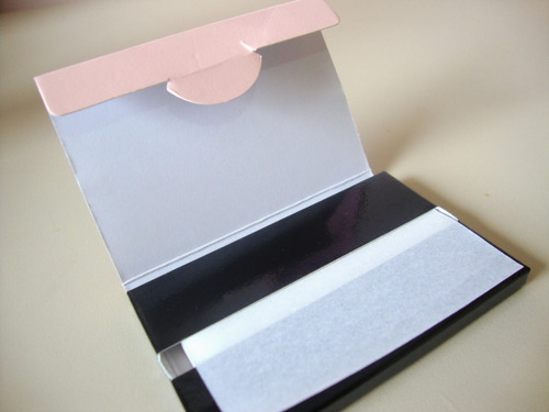 lenços de papel anti brilho mary kay 75 un