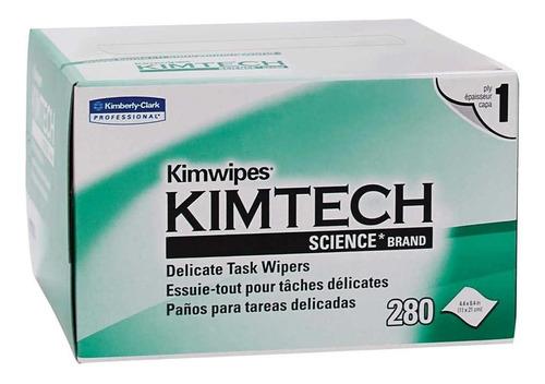 lenços limpeza anti estático kimtech kimwipe 280un. optico