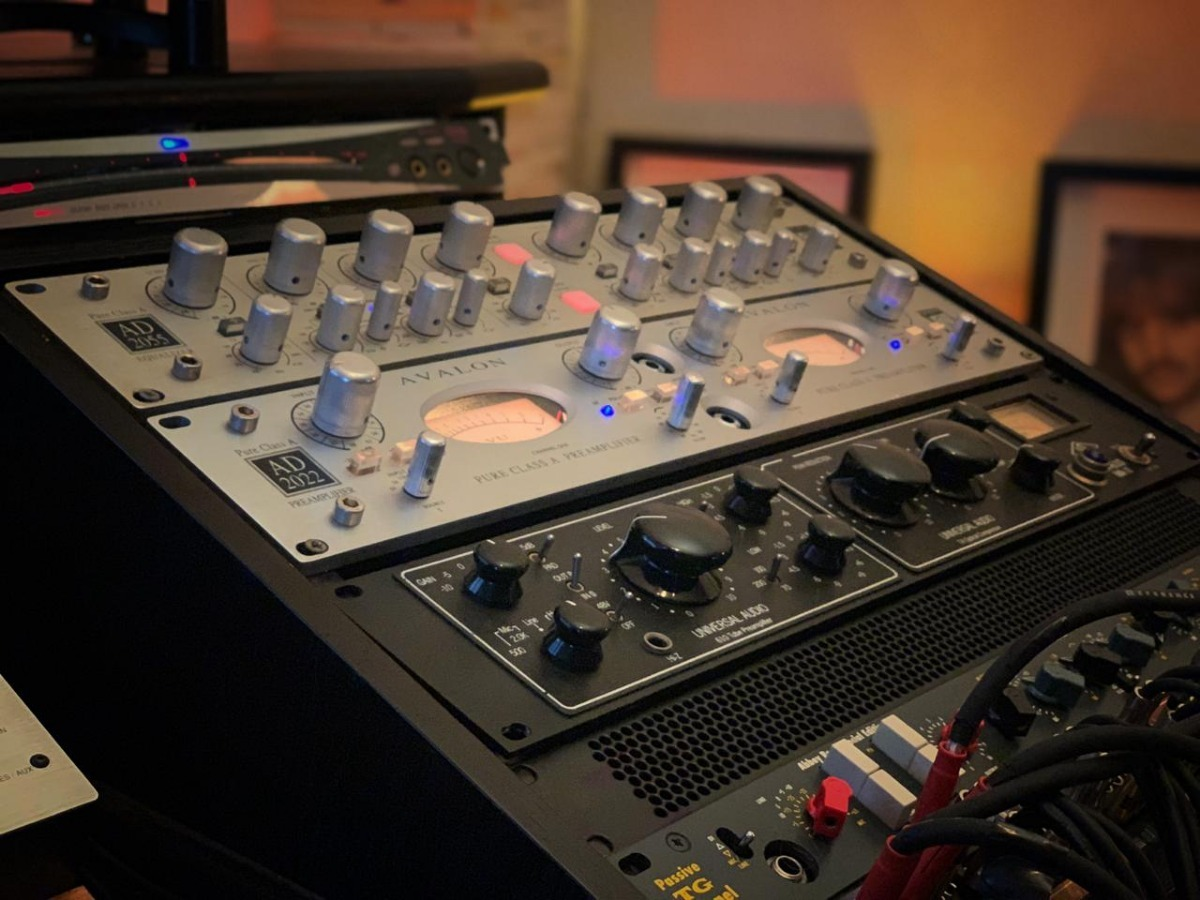 Lendário Universal Audio La 610 Mkii Oportunidade