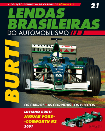 lendas brasileiras ed.21 - jaguar ford-cosworth r2 - burti