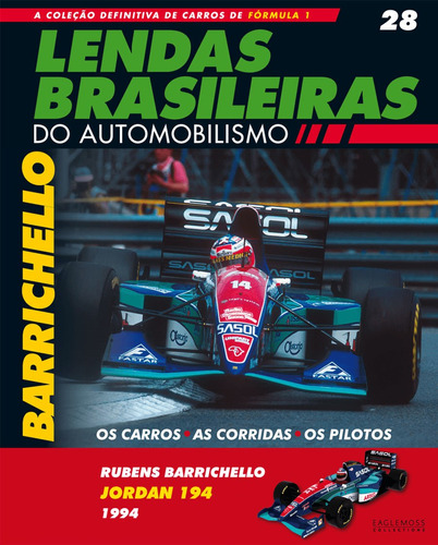 lendas brasileiras ed.28 - jordan194 - rubens barrichello