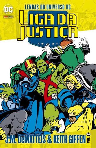 lendas do universo dc: liga da justiça - volume 2