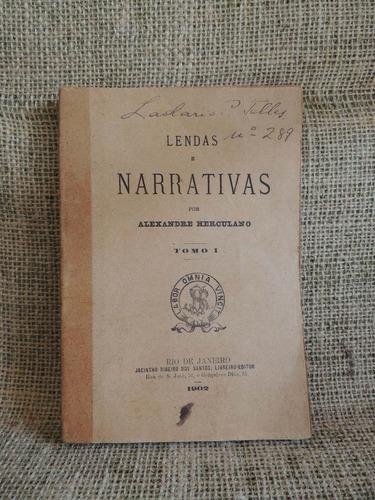 lendas e narrativas tomo i alexandre herculano 1902 jacinth