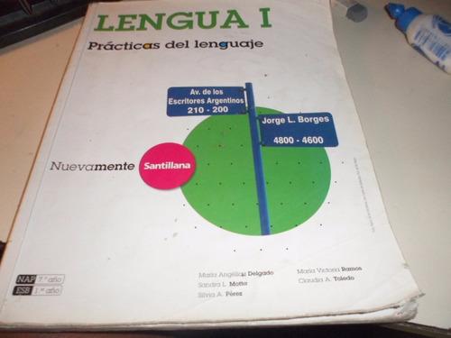 lengua 1 prácticas del lenguaje nuevamente santillana