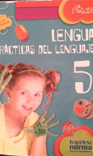 lengua 5 clic kapelusz norma practicas del lenguaje