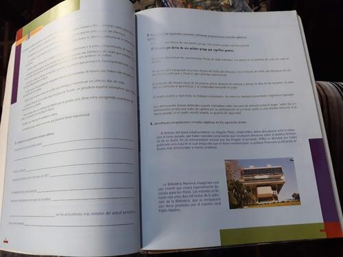 lengua el texto, el contexto y los procedimientos santillana