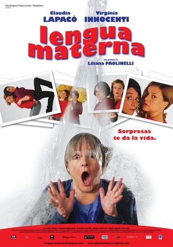 lengua materna, de liliana paolinelli - dvd original