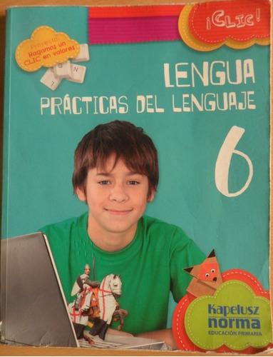 lengua, prácticas del lenguaje 6