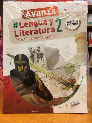 lengua y literatura 2 - avanza - kapelusz