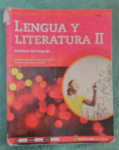 lengua y literatura 2 en linea santillana