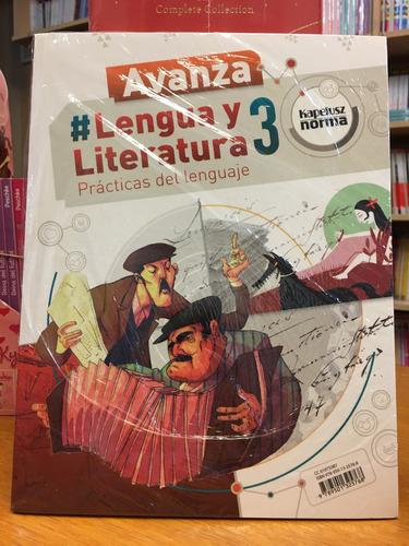 lengua y literatura 3 - avanza - kapelusz