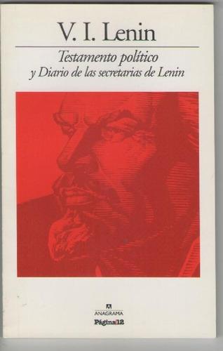 lenin - testamento político y diario de las secretarias