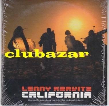 lenny kravitz cd single promocional california 2004 europeo