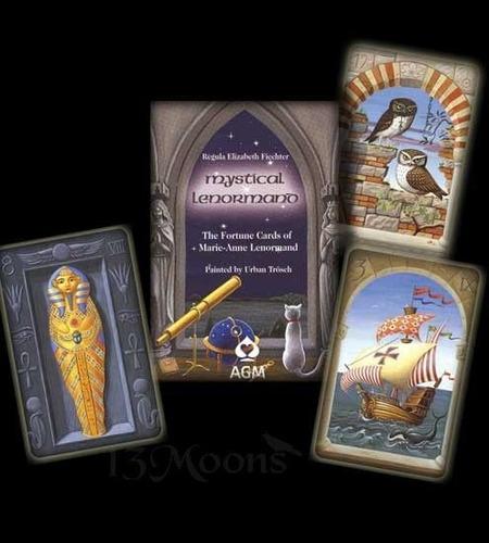 lenormand mystical cartas+manual en español