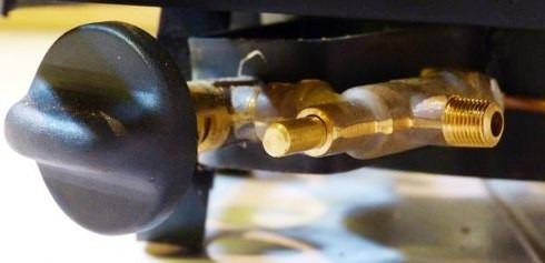 leños refractarios gas 5000 calorias con valvula d seguridad